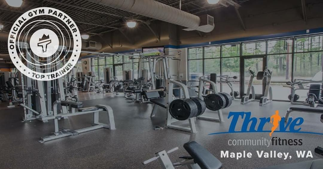Expanding Our Thrive Family Look For Toptrainer Products At The Thrive Community Fitness Maple Valley In 2020