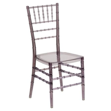 Provide chic seating around the dinner table, or stack up to 1 of these chairs on the porch and break them out at the next family BBQ.