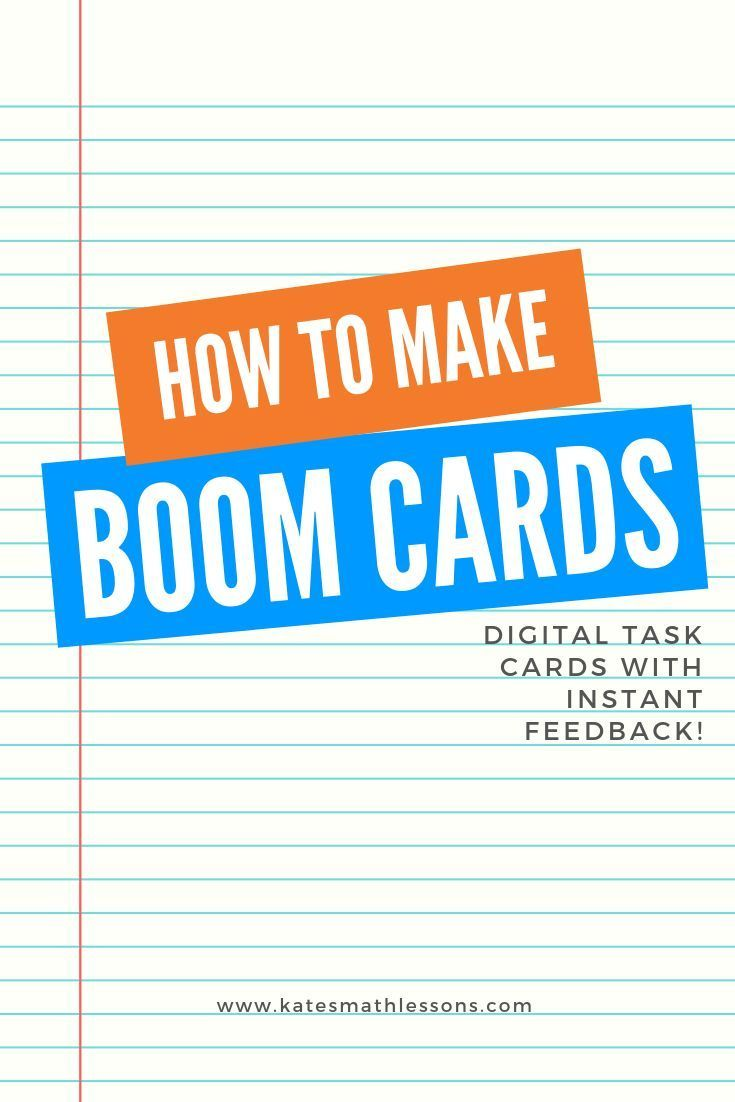 Boom Cards Bootcamp