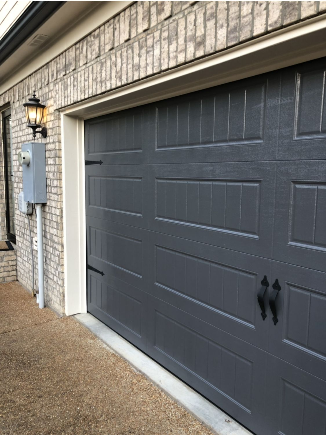 Sw Peppercorn Garage Door Garage Doors Garage Door Styles Garage Door Colors
