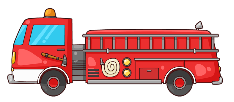 Free To Use Public Domain Fire Truck Clip Art Fire Trucks Fire Trucks Pictures Clip Art