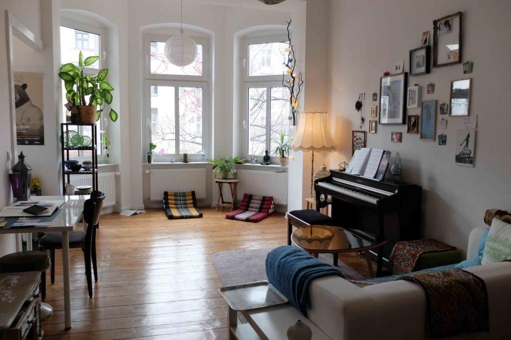 Helles Wohnzimmer Mit Erker Als Sitzecke Eine Kleine Aber Schön   Kleine Sitzecke  Wohnzimmer