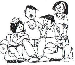 Resultado De Imagen Para Valores De La Familia Cristiana Familias Cristianas Cristianos Lindo Dibujo