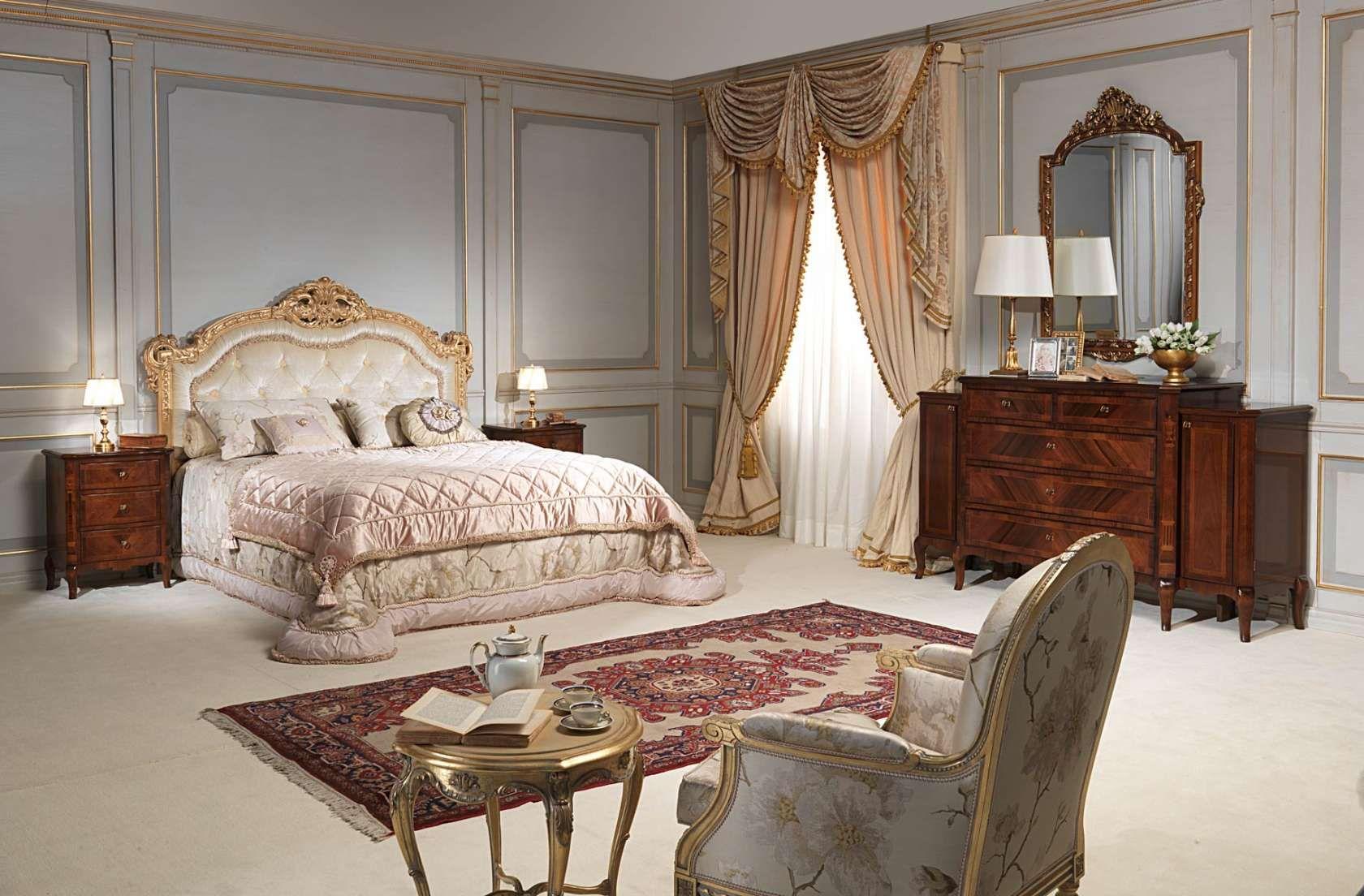 Camera Da Letto Matrimoniale In Francese : Classic french bedroom 19th century style vimercati classic