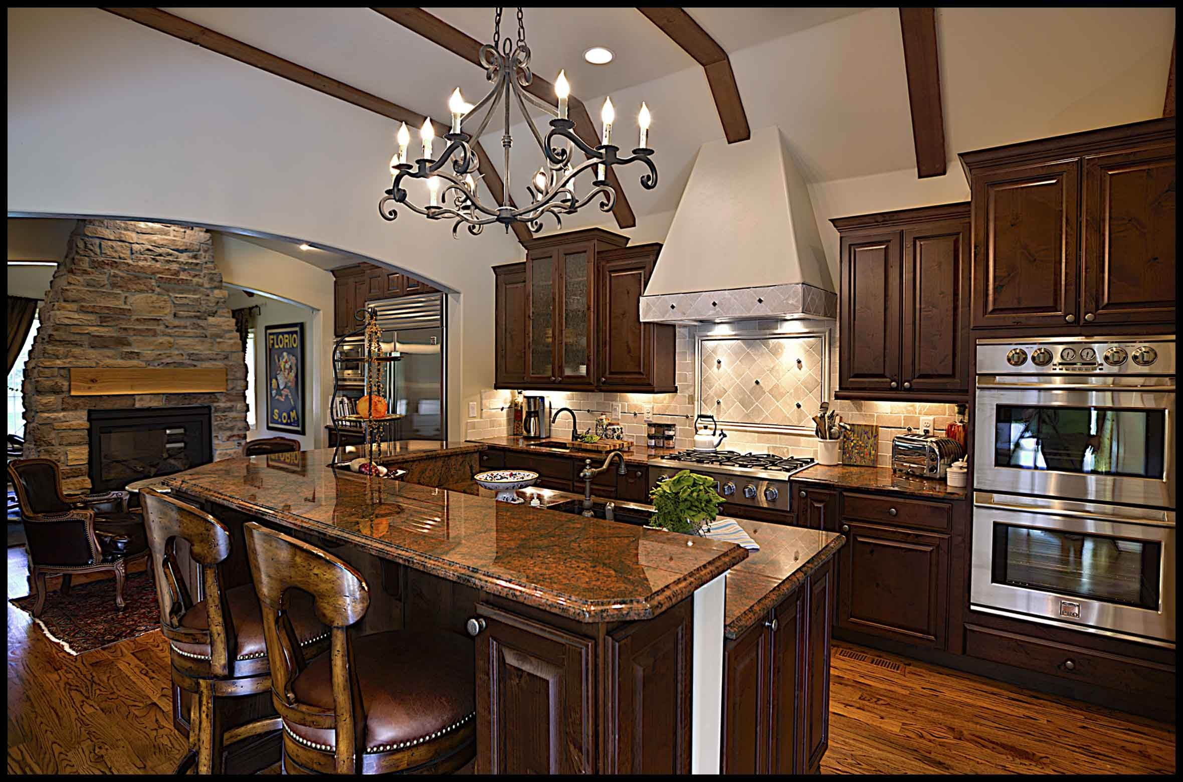 """Lots of room for """"helpers""""! Kitchen design, Kitchen"""