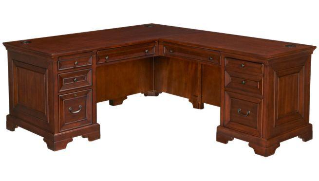 Aspen Richmond Desk With Return Office Desks For Sale At