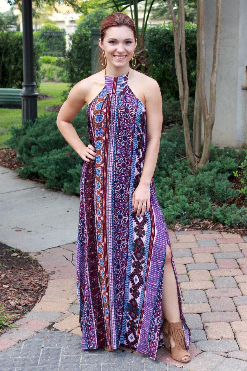 Barefoot Mermaid Maxi Dress