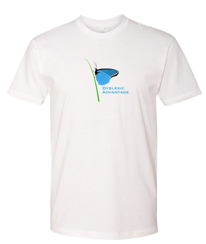 Promote Dyslexic Advantage Awareness and Help Change the World! Dyslexia Awareness T-Shirt. Clothing. Shirts.