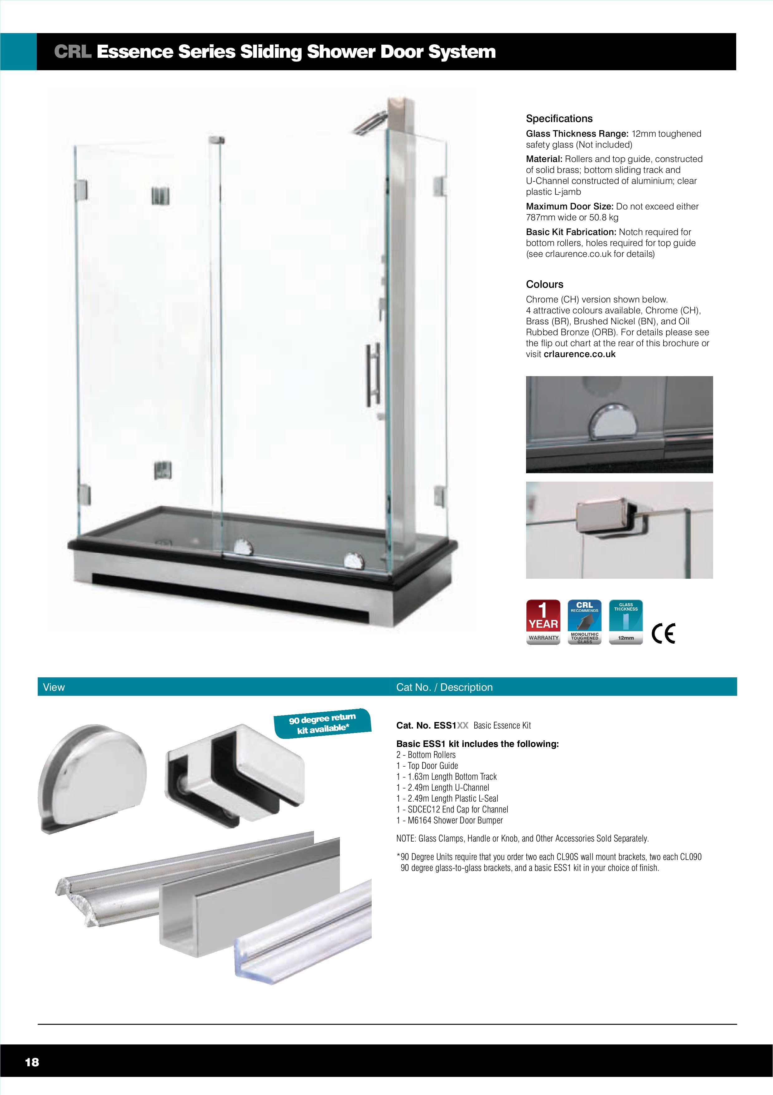 Create Your Perfect Bathroom With Our Extensive Range Of Shower Hardware And Accessories Shower Door Handles Glass Shower Enclosures Door Fittings