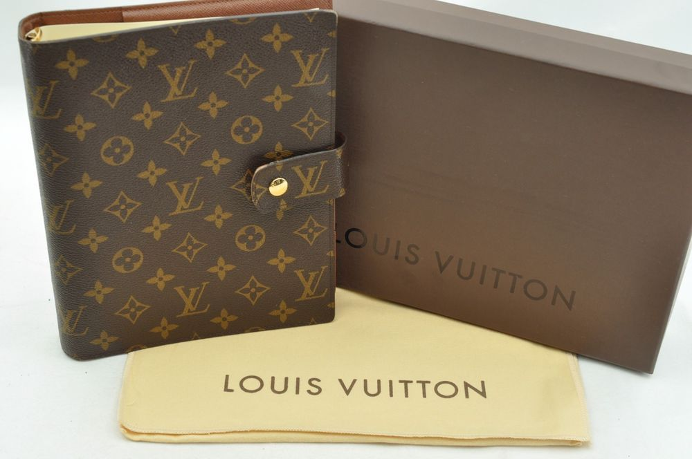 Authentic Louis Vuitton Monogram Agenda Gm Day Planner Cover R20106 Lv 16786 In Clothing Shoes Louis Vuitton Planner Louis Vuitton Louis Vuitton Agenda