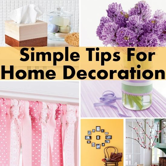 simple and functional tips on home decoration - Home Decorative Things