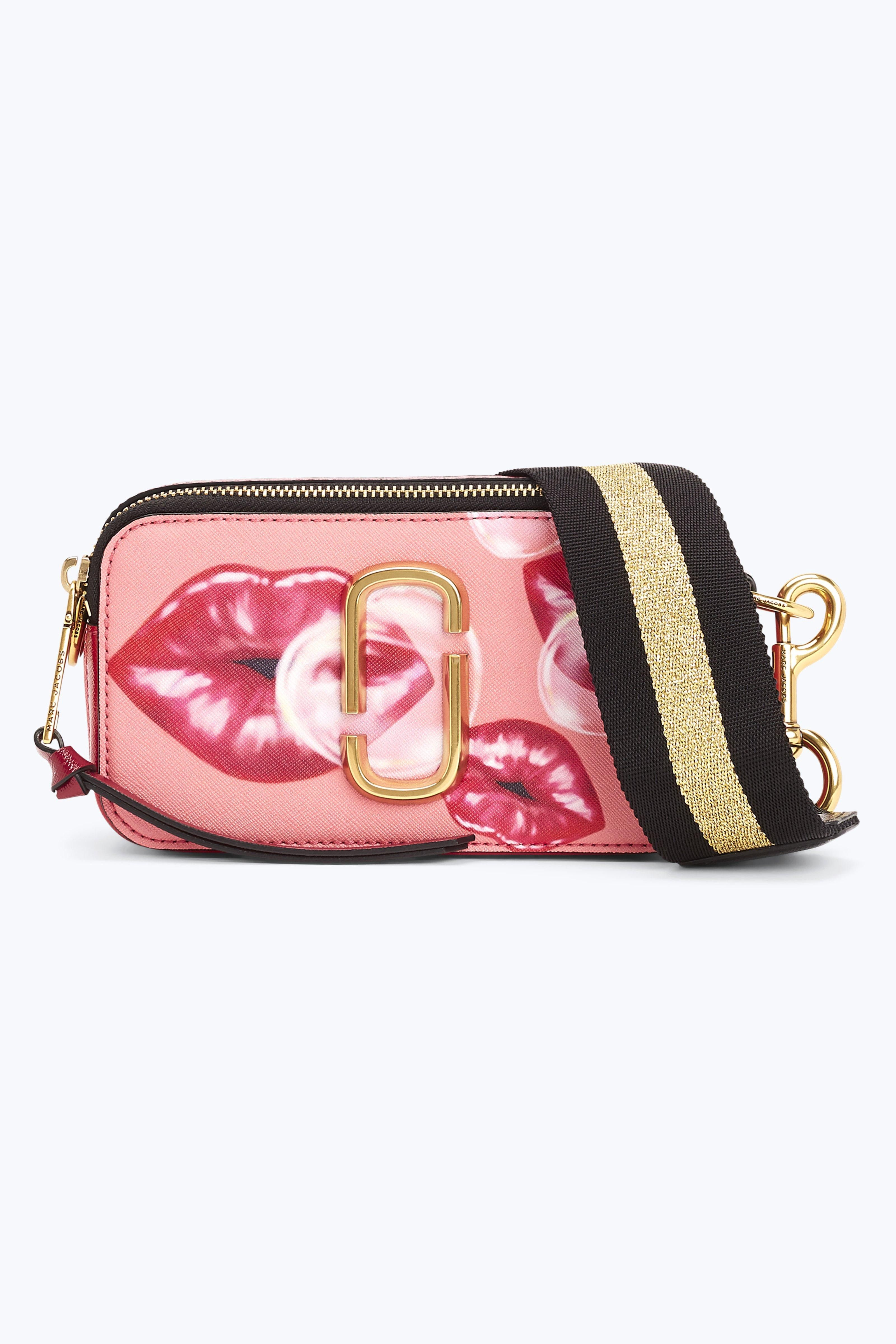 9eee31d5c MARC JACOBS Printed Lips Snapshot Small Camera Bag. #marcjacobs ...