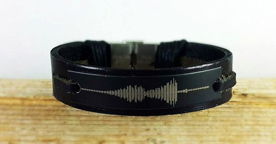 Soundwave Bracelet Waveform Audio By Denizu