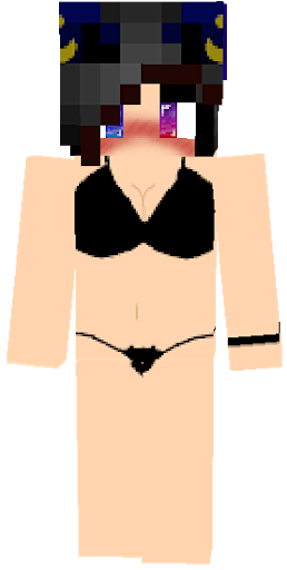 майнкрафт скины голых девушек #2