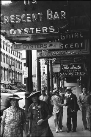 New Orleans 1947 by Henri Cartier-Bresson.