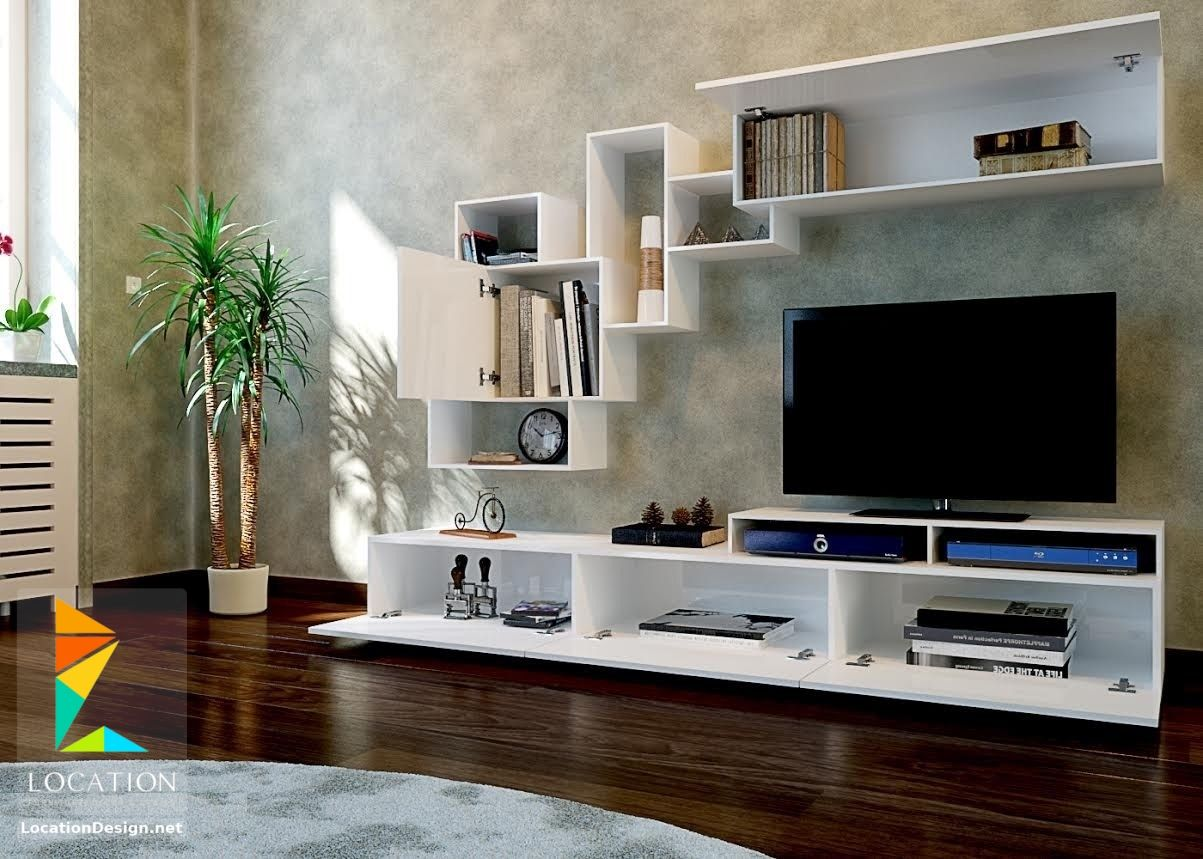 اجمل مكتبات مودرن روووعه احدث المكتبات 2019 مكتبات تليفزيون بلازما مودرن Living Room Tv Stand Home Decor Tv Cabinets
