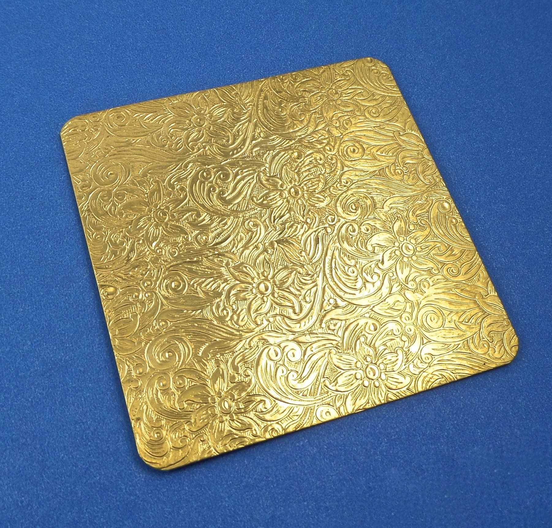 Small Floral Paisley Rolling Mill Texture Plate Pattern Etsy In 2020 Brass Texture Rolling Mill Texture