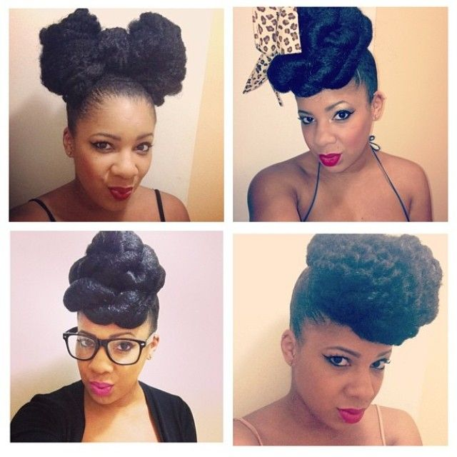 Protective Styling Ideas Black Hair Information Community Hair Styles Natural Hair Styles Natural Hair Inspiration