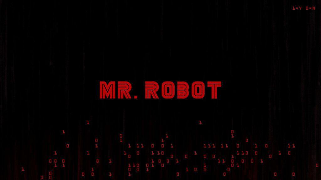 Mr Robot Logo Tv Series 4k Wallpaper Robot Wallpaper Mr Robot Mr Robot Poster