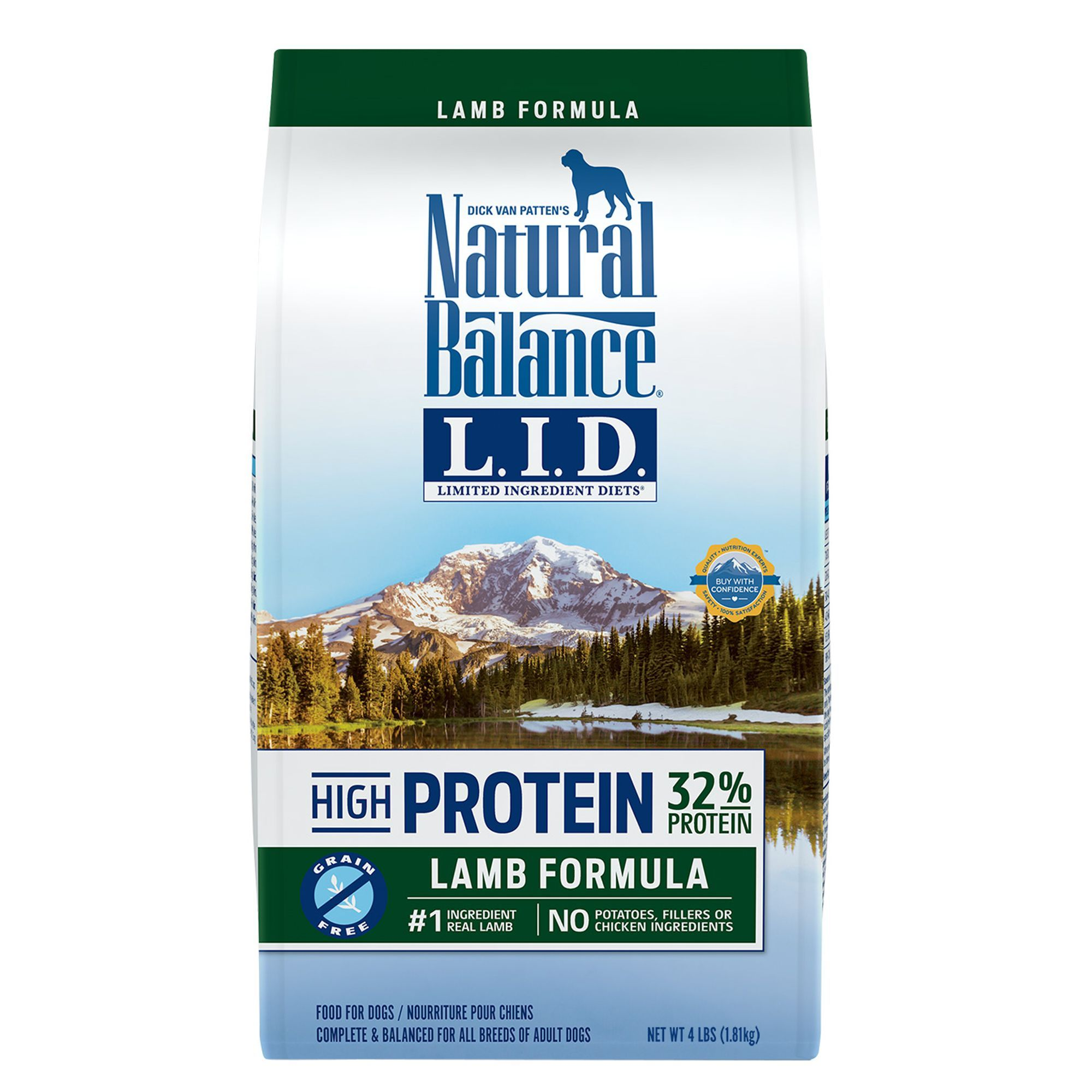 Natural Balance Limited Ingredient Diets High Protein Adult Dog