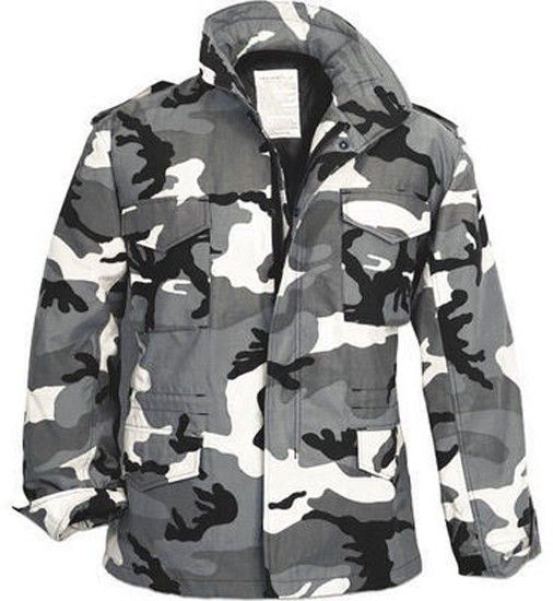 City Camouflage Military M-65 Field Jacket  d7994021548