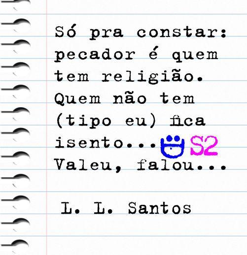 Leiture-se: http://clubedeautores.com.br/ #pecado #religião