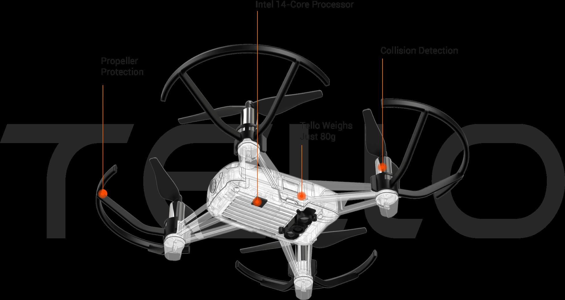 Tello Drone Camerasdirectau Dji Tello Drone