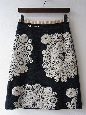 Flower nest skirt