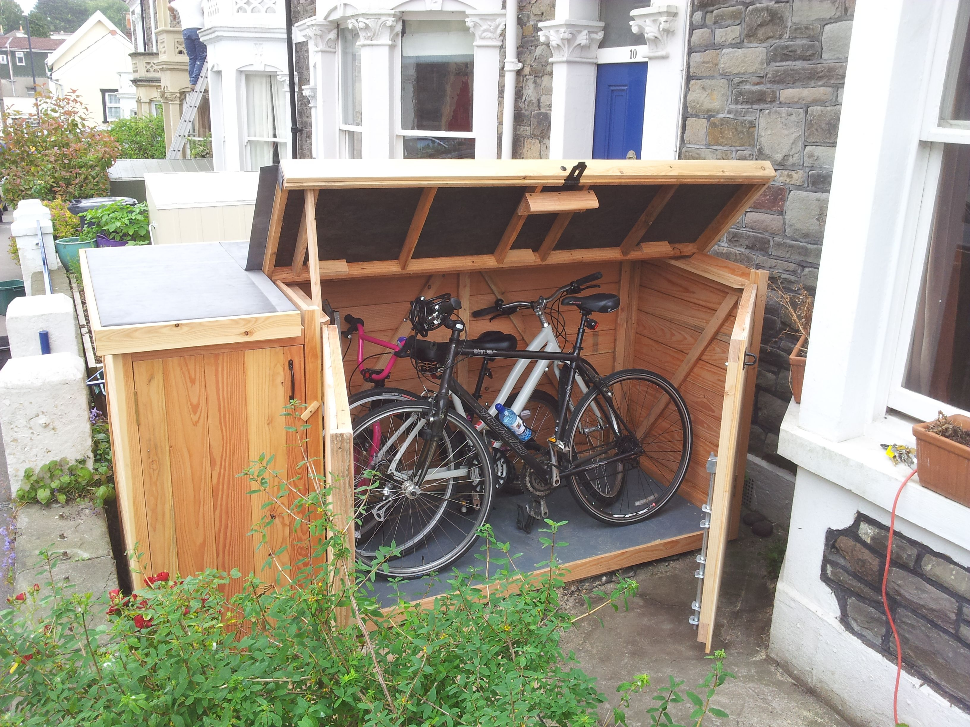 best 25 bike shed ideas on pinterest bicycle storage shed bike