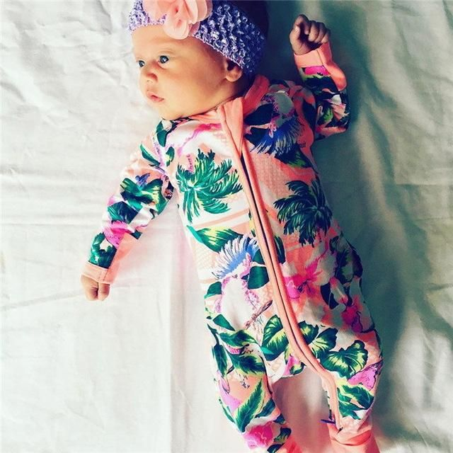 92a02e0eb Ai Meng Baby Girl Clothes Newborn Baby Rompers Outfits Baby Child ...