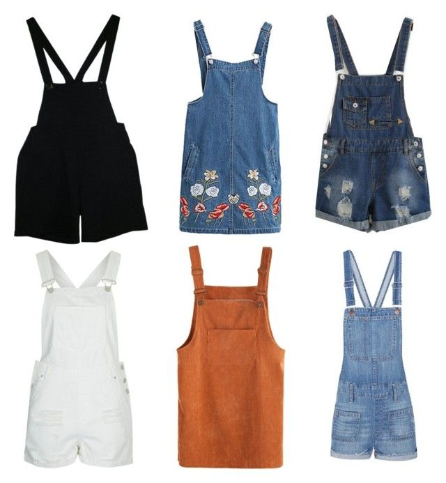 """Overalls"" by rangelmaria on Polyvore featuring American Apparel, Topshop, Chicnova Fashion and Madewell"