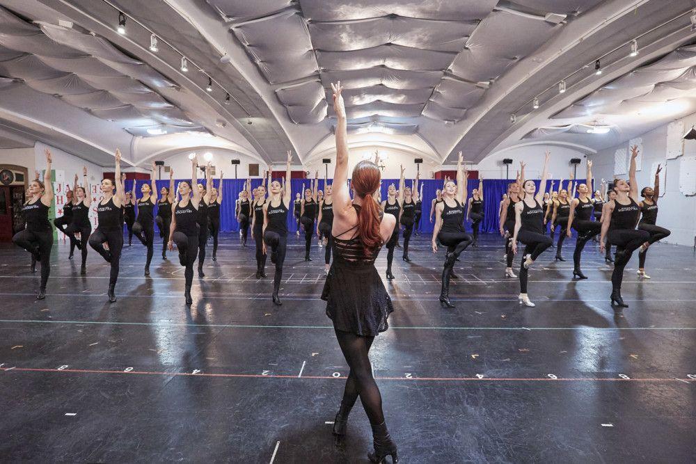 Radio City Rockettes Getting Ready for 2019 Xmas