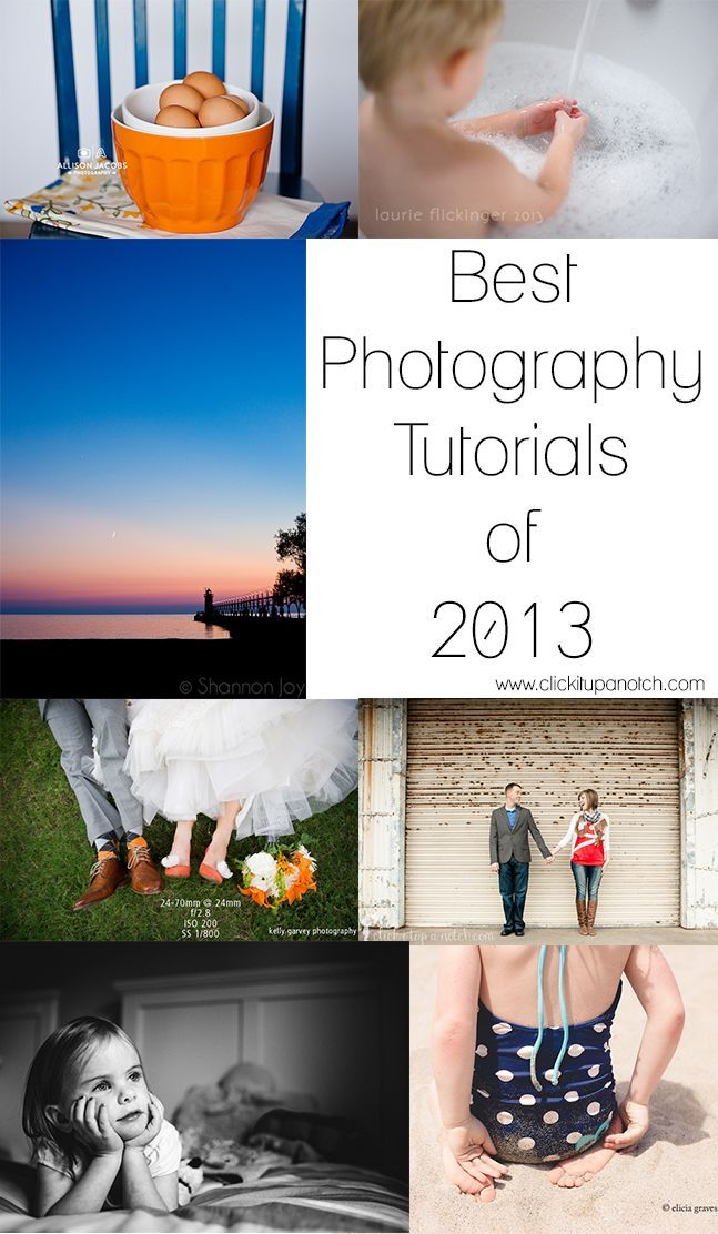 Best photography tutorials of 2013 via   Click it Up a Notch