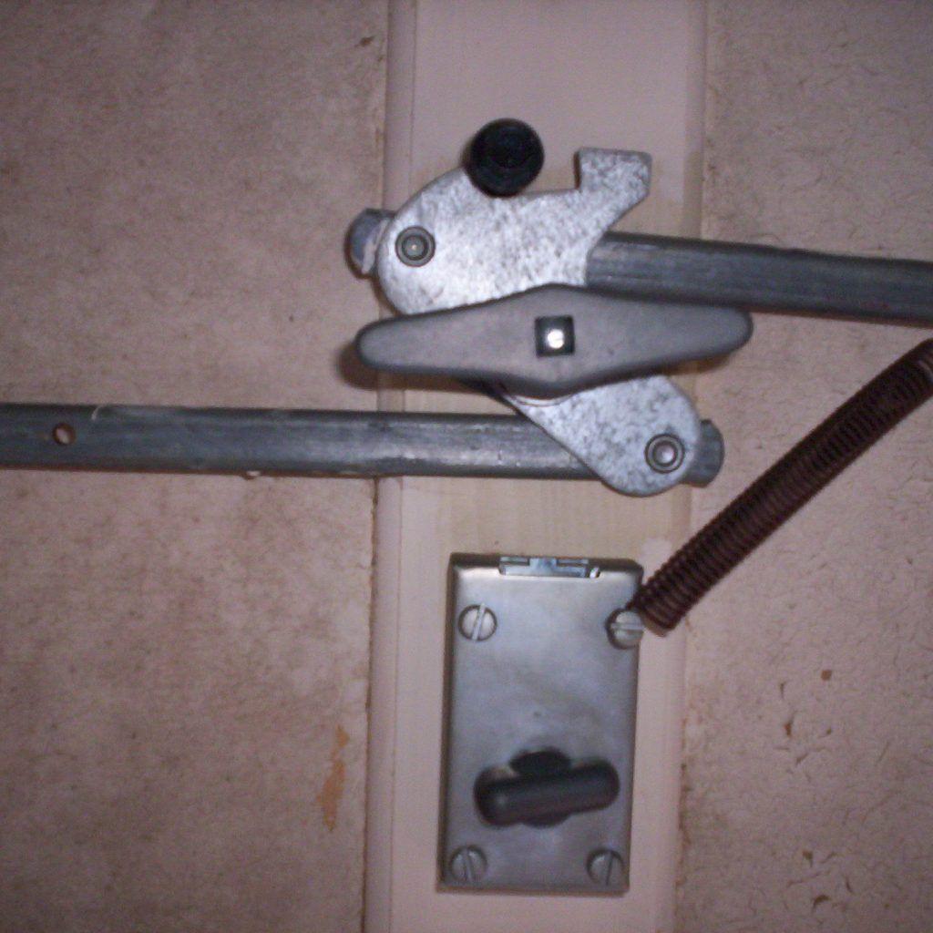 Garage door lock latch  Garage Door Slide Lock Kit  togethersandia  Pinterest