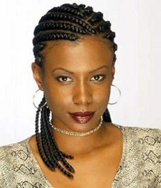 African Braided Wedding Hairstyles