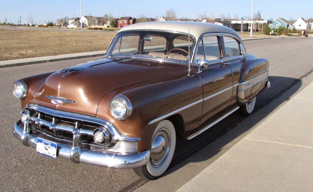 1953 Chevy Bel Air 4 Door Sedan Maintenance Of Old Vehicles The Material For New Cogs Casters Gears Pads American Classic Cars Classic Cars Chevrolet Bel Air