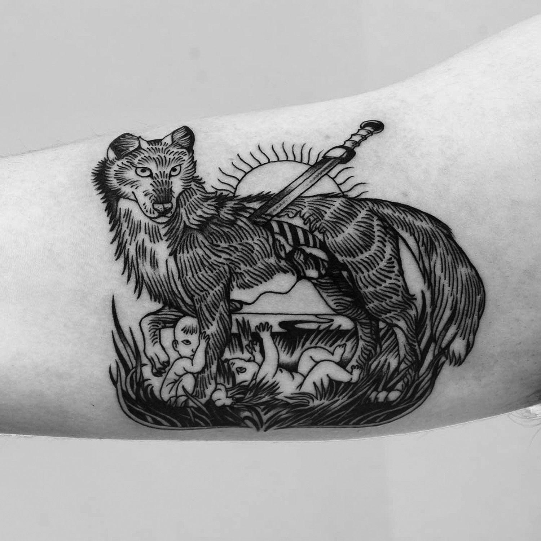 Fine Line Tattoos In A Vintage Illustration Style By A B M Fine Line Tattoos Line Tattoos Tattoos