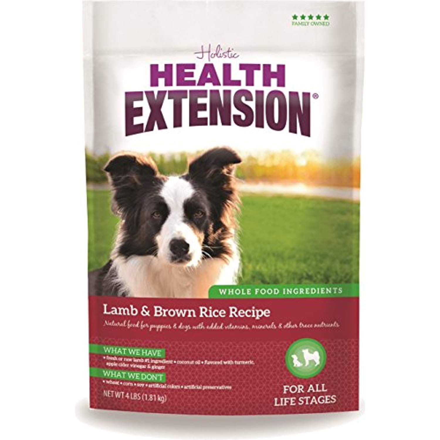 Health extension lamb and brown rice 30pound more
