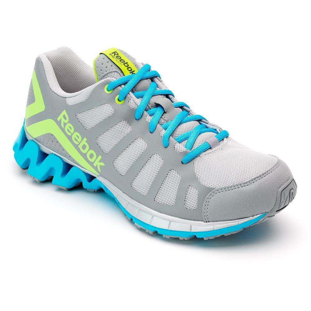 d1d31f0d6490 Zig when the world zags in Reebok Zig Heel running shoes.  fitness  Kohls  Reebok Ridgerider Trail 2.0 Women s ...