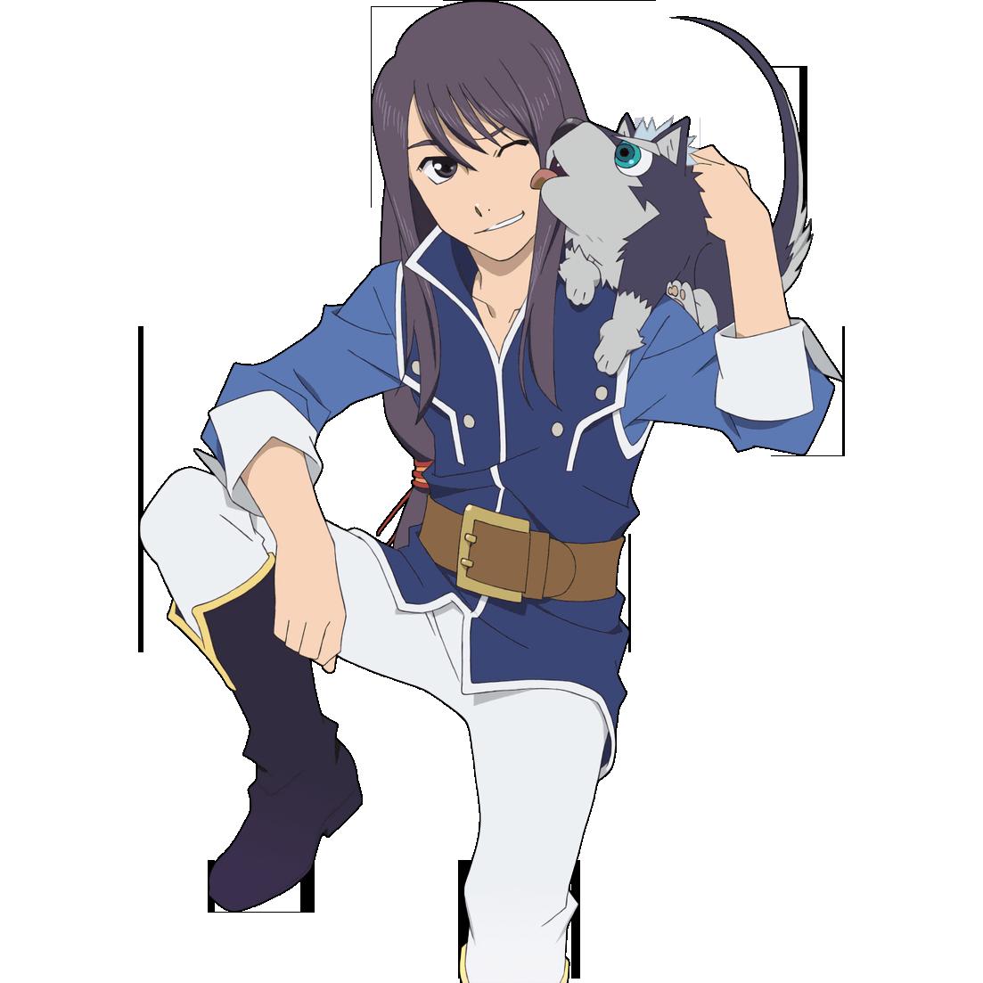 "talesoftransparent ""Transparent Yuri and Repede! Feel"