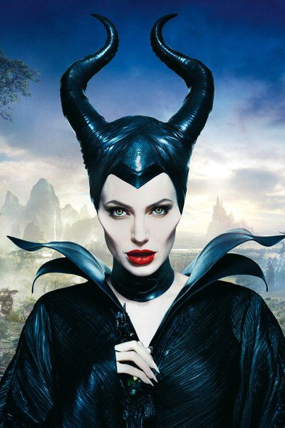 Angelina Jolie Has Goat Eyes In Maleficent The Beauty Of