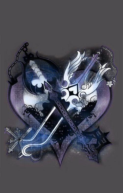 Oblivion And Oathkeeper Kingdom Hearts Kingdom Hearts Kingdom