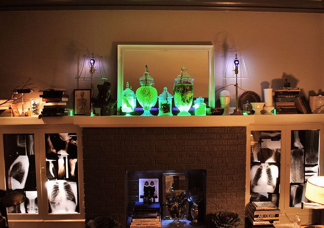 Inspired Halloween Spreads Study\u0027s Mad Scientist Lab Halloween ideas - mad scientist halloween decorations