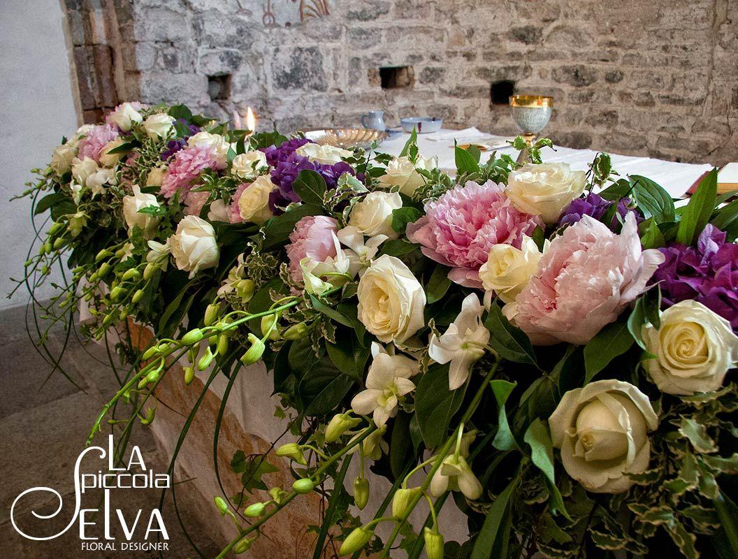 Bouquet Addobbi Con Peonie Centrotavola Floreali Composizioni Floreali Peonie