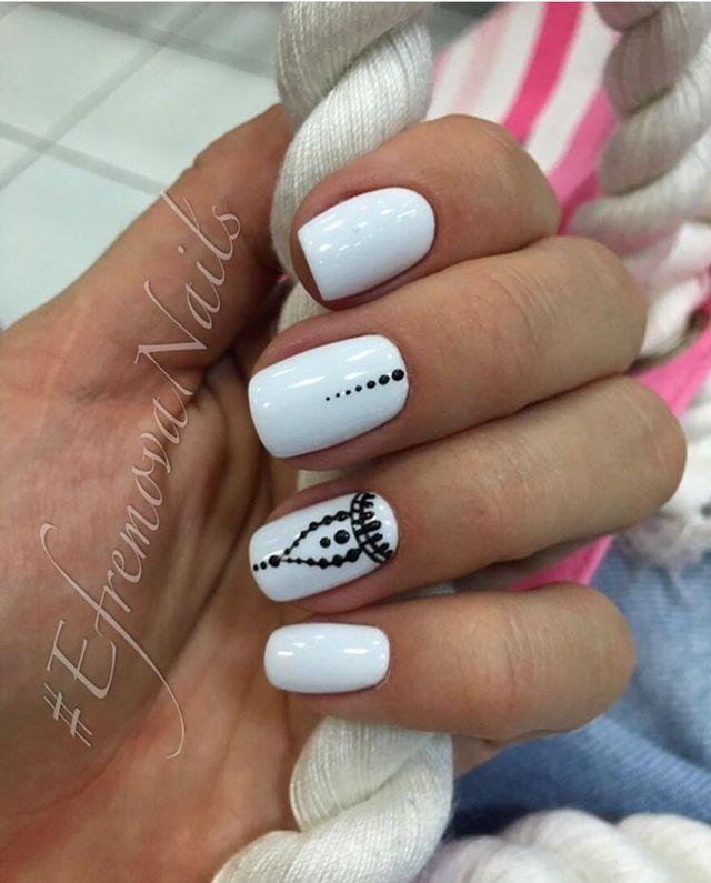 точечный дизайн ногтей 2