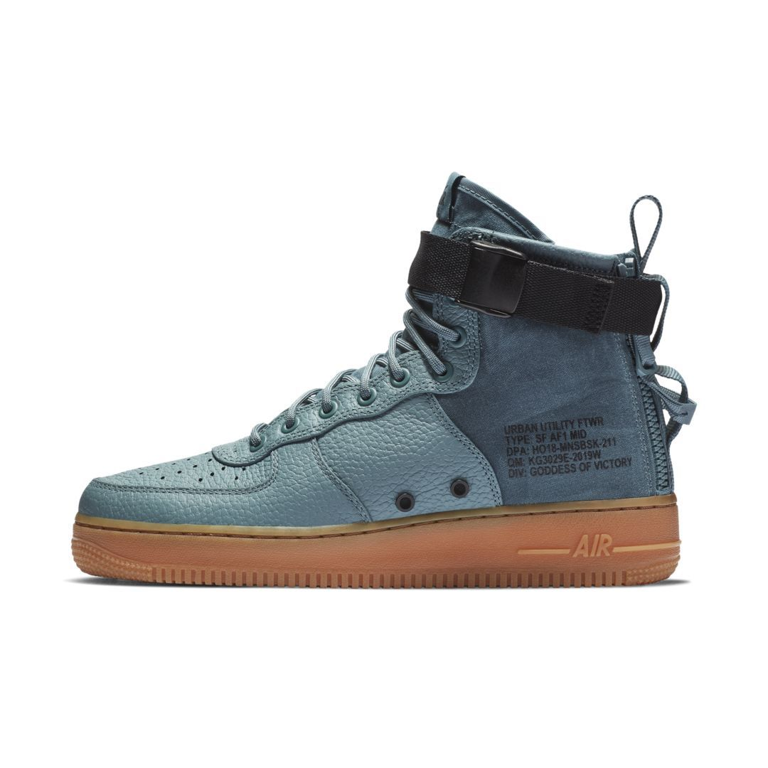 aab0522121fca SF Air Force 1 Mid Men's Shoe | Products | Air force 1 mid, Air ...