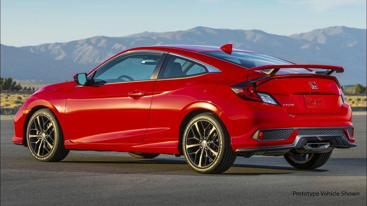 2020 Honda Civic Si Honda Civic Si Honda Civic Si Coupe Honda Civic