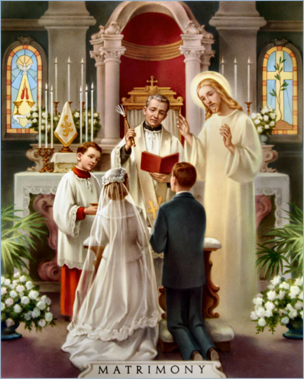 10 facts about sacred matrimony catholic sacraments roman the seven sacraments of the catholic church the latin word sacramentum means a sign of the sacred the seven sacraments are ceremonies that point to what biocorpaavc Gallery