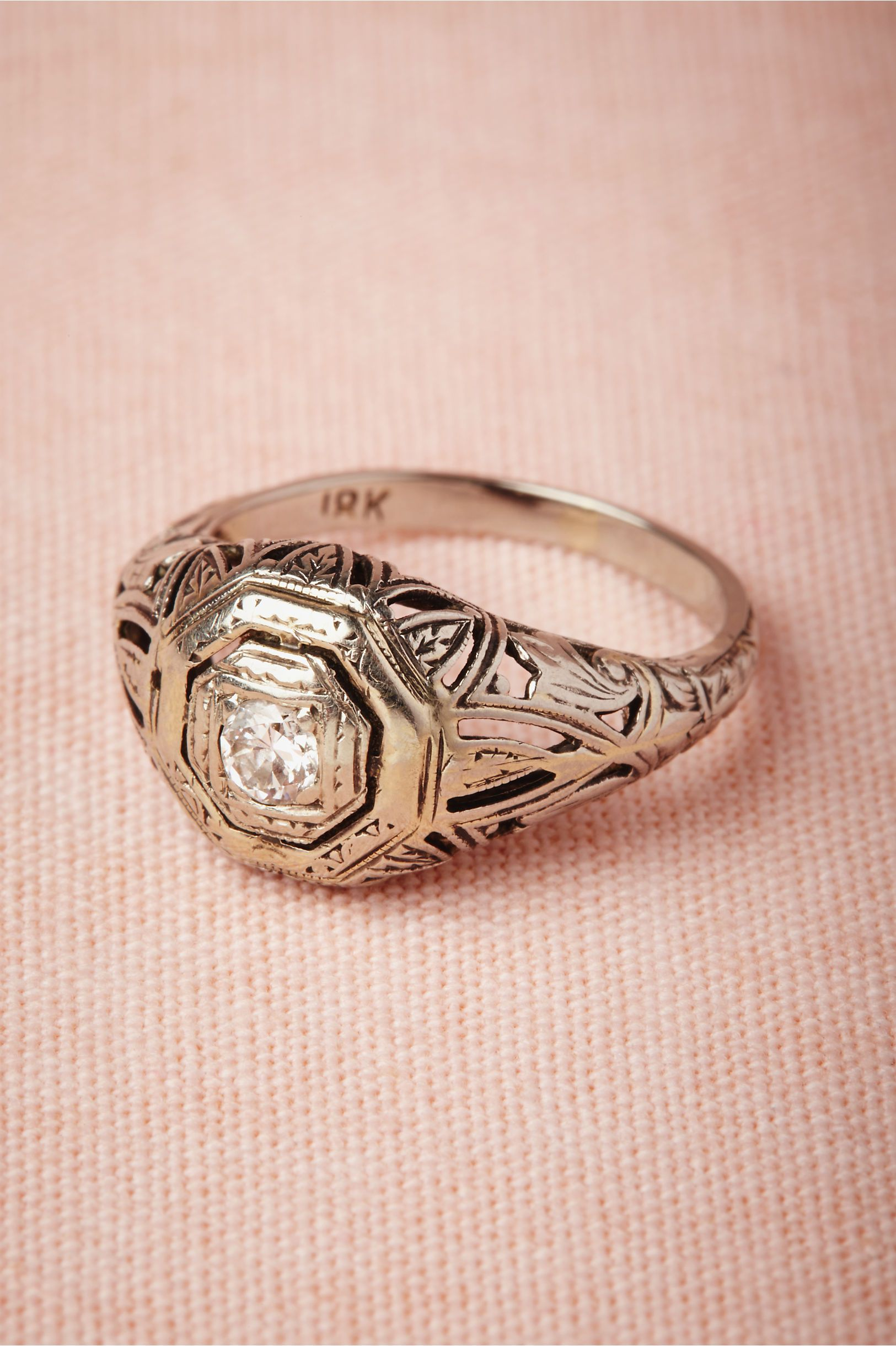 Coup De Foudre Ring $1,085.00 Style: 27649656 Intricate Art Deco ...