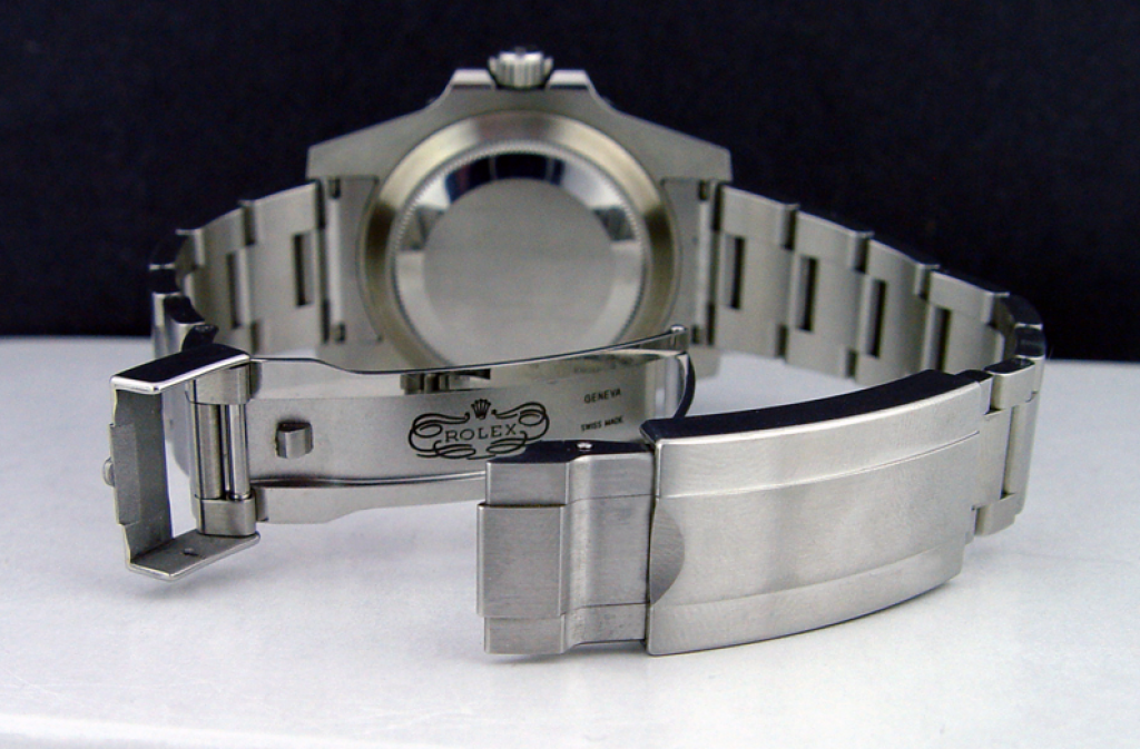 Rolex Submariner 114060 Dive Watch From Back Open Clasp Rolex Submariner Dive Watches Rolex